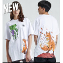 DOLLY NOIRE volpe t-shirt oversize white